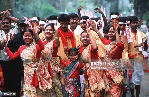 The Bihu Festival one of the most celebrated in Assam where all classes of people including tea workers mix and mingle for a few days