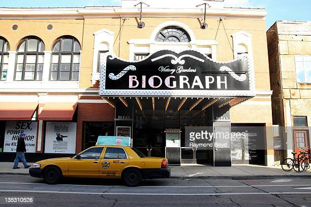 The Biograph Theater the location where bank robber John Dillinger was murdered in Chicago Illinois on DECEMBER 02 2011