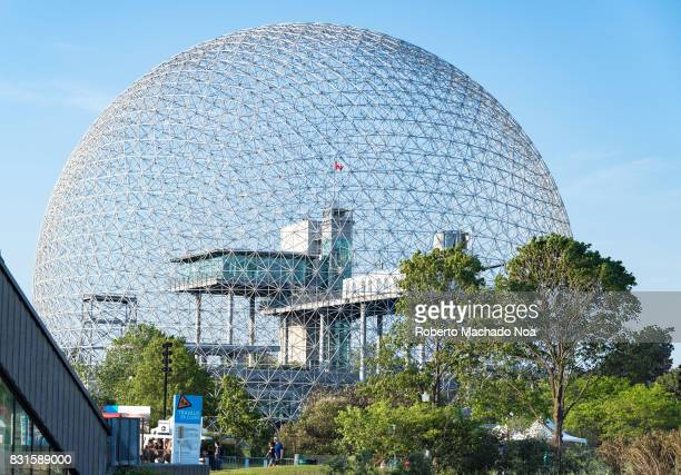 The Biosphere The famous place is a museum dedicated to the environment It is located at Parc JeanDrapeau on Saint Helen's Island