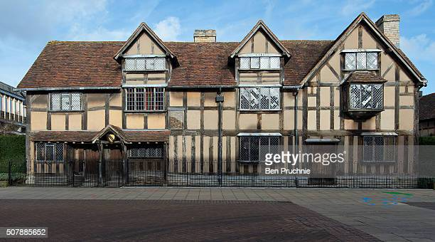 The birthplace of William Shakespeare ahead of the 400th anniversary of Shakespeare's death on February 1 2016 in StratforduponAvon England April...