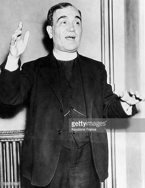 The Bishop Fan S Noli In Albania On June 29 1937 This Prelate Founded The Albanian Autocephalous Church After Having Lived In The United States He...