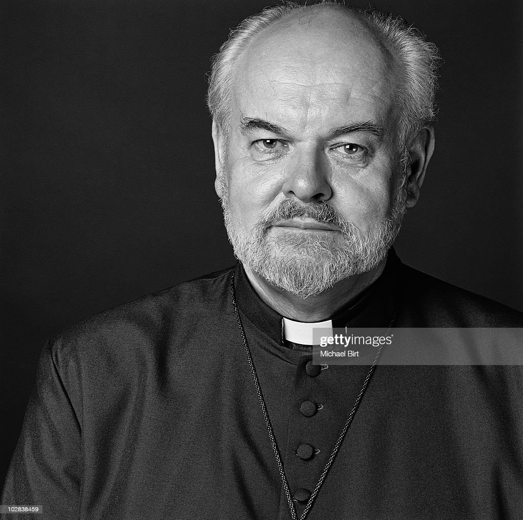 The Bishop of London, Richard John Carew Chartres, poses for a portrait shoot in - the-bishop-of-london-richard-john-carew-chartres-poses-for-a-portrait-picture-id102838459
