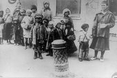 The Bitter truth actual conditions in the Russian starvation area A group of children deserted by their parents when they could no longer stand the...