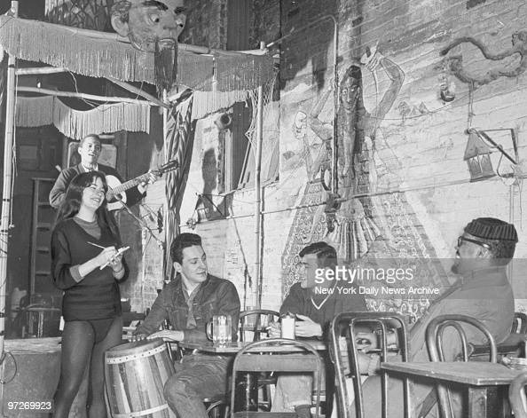 The Bizarre club in Greenwich Village
