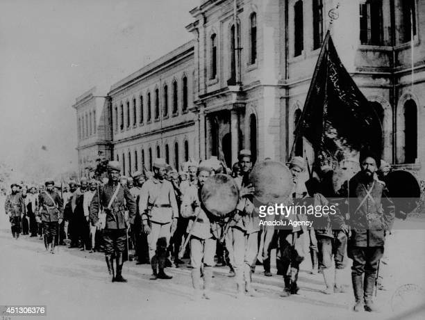 The black and white pictures Turkish General Staff has released on June 27 2014 show the Syria front during the World War I The pictures released by...