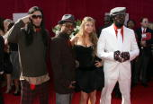 The Black Eye Peas Members Taboo ApldeAp Fergie and WillIAm arrive at the 57th Annual Emmy Awards held at the Shrine Auditorium on September 18 2005...