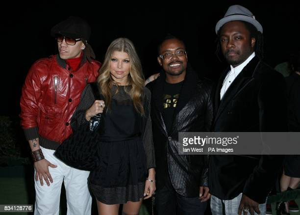 The Black Eyed Peas arrive for the 4th Annual Peapod Foundation Benefit Concert at the Avalon Club Los Angeles