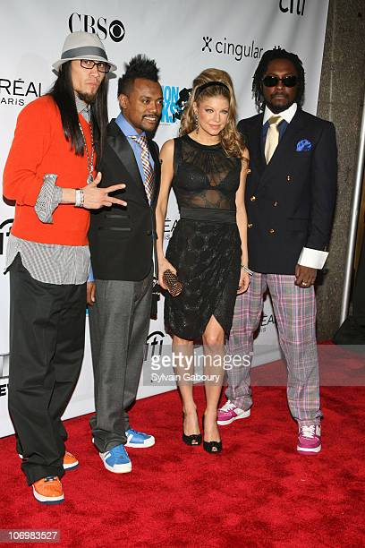 The Black Eyed Peas during Conde Nast Media Group Kicked off Fashion Week with the Third Annual 'Fashion Rocks' Concert Arrivals at Radio City Music...