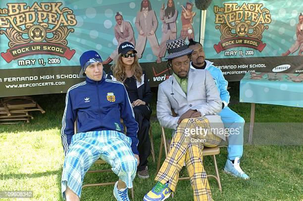 The Black Eyed Peas during Verizon Wireless Presents the Black Eyed Peas Private Performance at San Fernando High School at San Fernando High School...