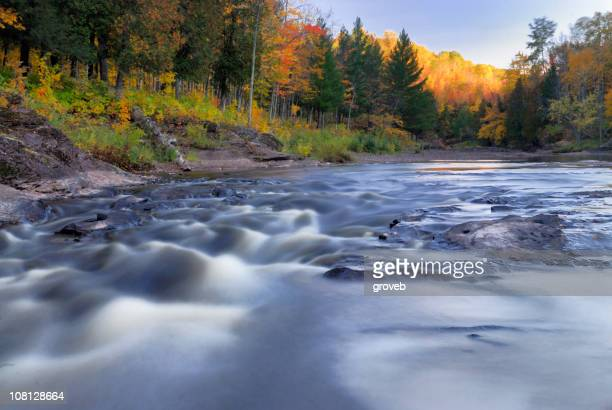 The Black River in the upper peninsula of Michigan