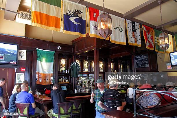 The Black Rose Irish pub interior