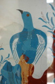 The Blue Bird fresco from the House of the Frescoes Greece Minoan Late Bronze Age c 1550 BC Knossos Crete