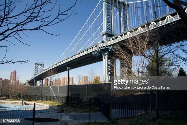 The blue bridge