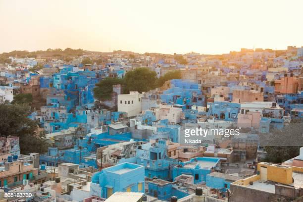 Le Blue ville, le Jodhpur, Inde