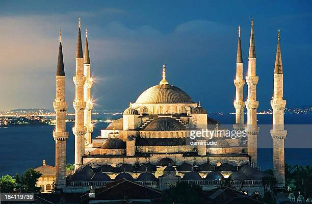 The Blue Mosque in Istanbul Turkey
