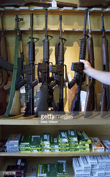 The Blue Ridge Arsenal offers assult rifles for sale October 3 2001 in Chantilly VA Guns sales have risen across America since the September 11th...