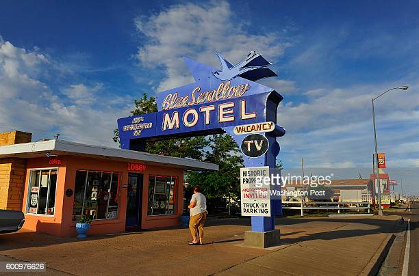 The Blue Swallow Motel has been serving travelers on Route 66 since 1939 Visitors can enjoy a pleasant reminder of what it was like to travel across...