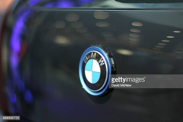The BMW i3 wins the Green Car of the Year Award at the 2014 Los Angeles Auto Show on November 20 2014 in Los Angeles California This year's show is...