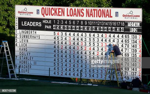 The board is set and the third round of the Quicken Loans National is complete on July 01 2017 at TPC Potomac at Avenel Farm in Potomac MD