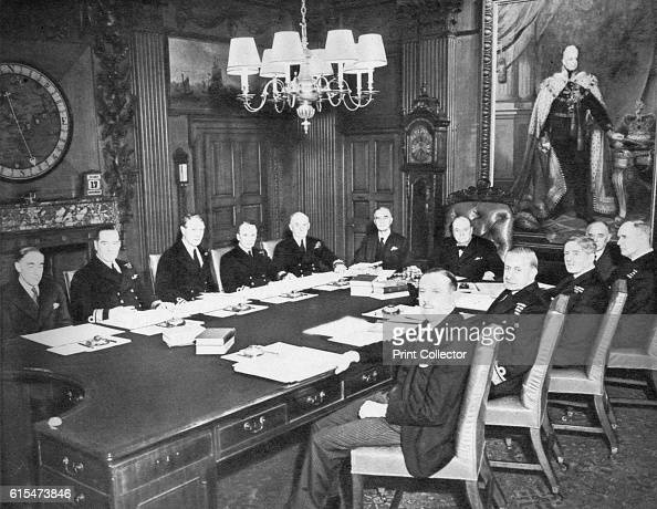 The Board of Admiralty in Session' 1939 Directly under the lamp sits the First Sea Lord Admiral Sir Dudley Pound Established under the Defence...
