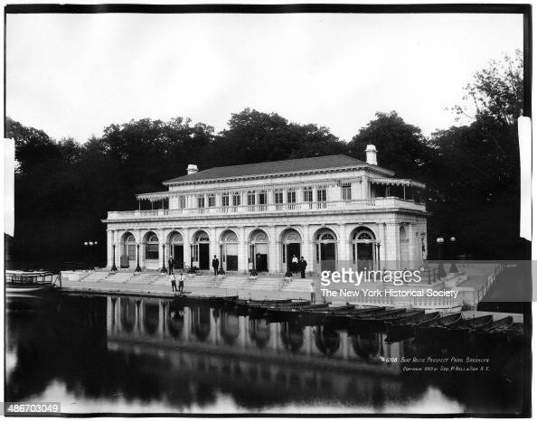 The Boathouse Prospect Park Brooklyn New York New York 1909