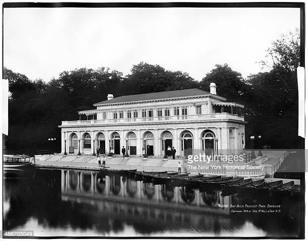 The Boathouse Prospect Park Brooklyn New York New York 1909