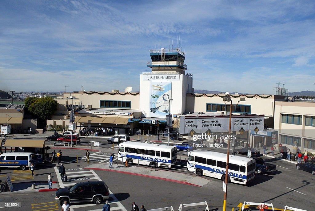 The Bob Hope Airport formerly The BurbankGlendalePasadena Airport on December 17 2003 Burbank California