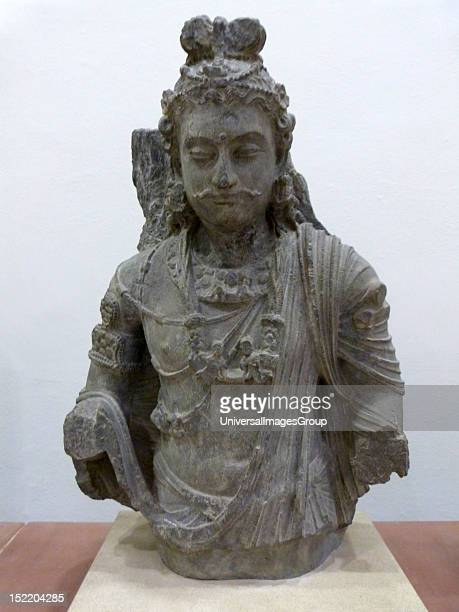 The Bodhisattva Maitreya Kushan period A bodhisattva is a future Buddha who is on the path to enlightenment but chooses to remain on earth to help...
