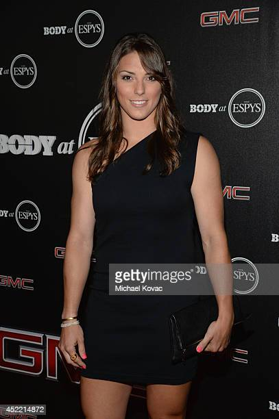 The Body Athlete Hilary Knight attends the Body at ESPYS PreParty at Lure on July 15 2014 in Hollywood California