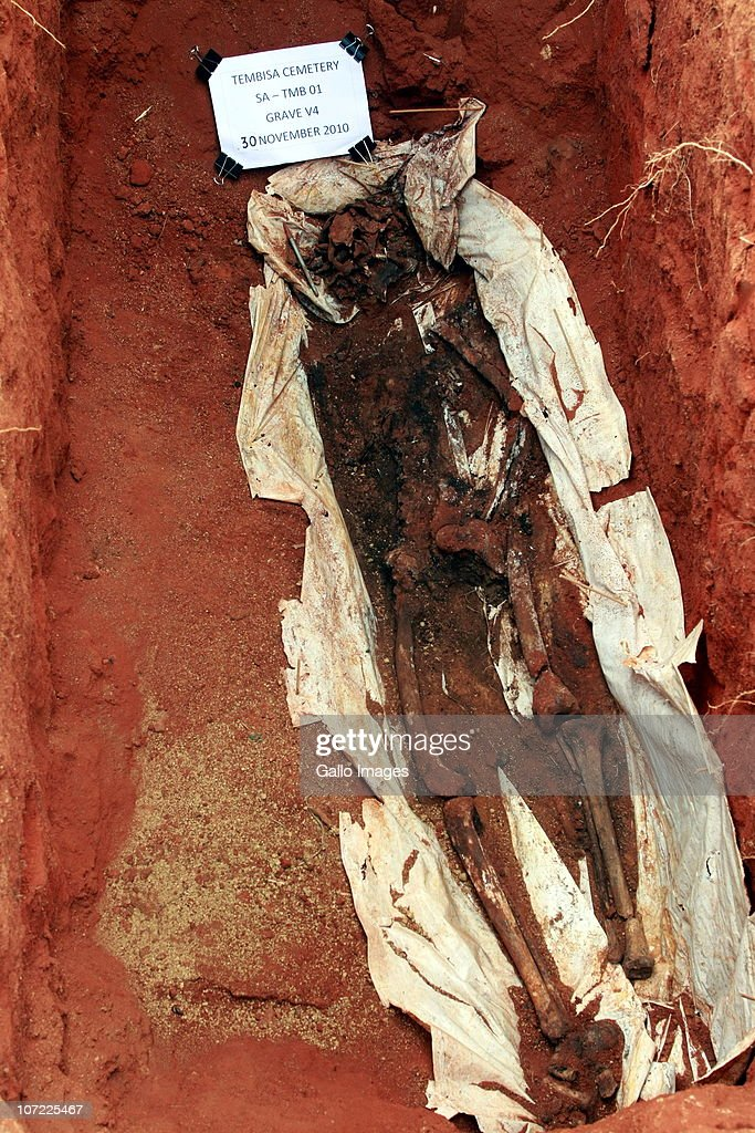 What does exhumed body look like