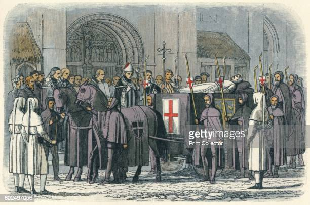 The body of Richard brought to St Paul's' 1864 The body of Richard II brought to St Paul's Cathedral London He is thought to have starved to death in...