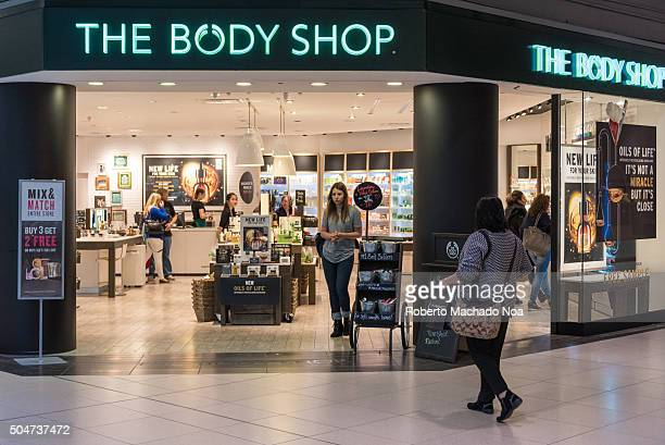 The Body Shop store front view in mall People Shopping at the body shopThe Body Shop has a range consisting of 1200 products including cosmetics and...