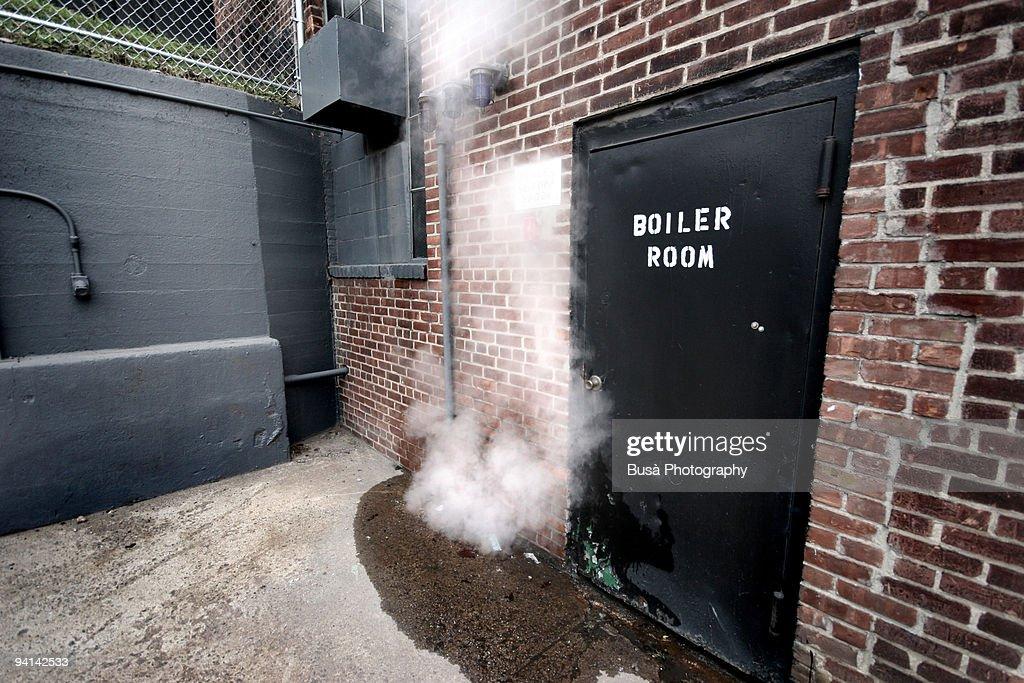 The Boiler Room : Stock Photo
