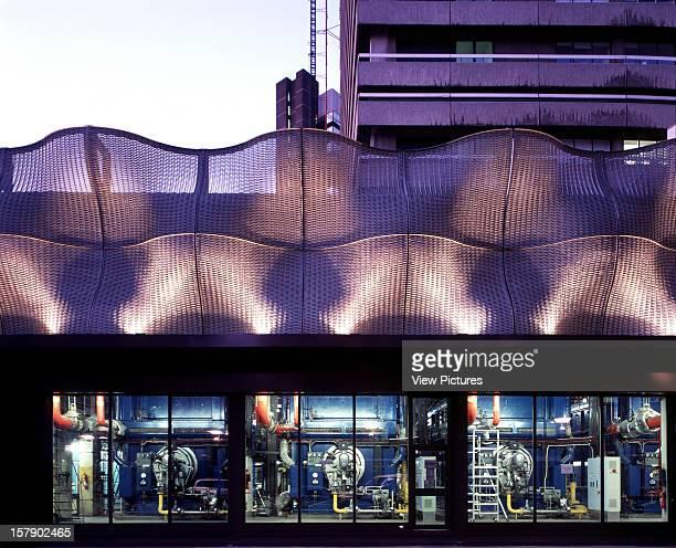The Boilersuit London United Kingdom Architect Thomas Heatherwick Studio The Boilersuit Exterior View At DuskShowing Hospital BoilerRoom