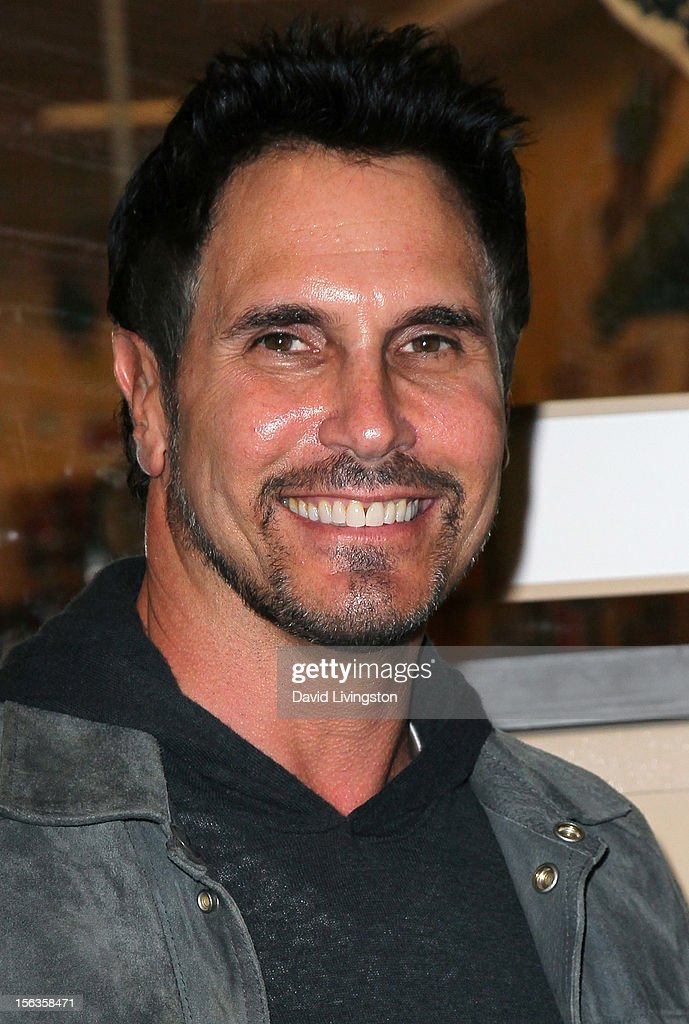 'The Bold and the Beautiful' cast member <a gi-track='captionPersonalityLinkClicked' href=/galleries/search?phrase=Don+Diamont&family=editorial&specificpeople=606917 ng-click='$event.stopPropagation()'>Don Diamont</a> attends a signing for 'Becoming Bold & Beautiful' at Barnes & Noble bookstore at The Grove on November 13, 2012 in Los Angeles, California.