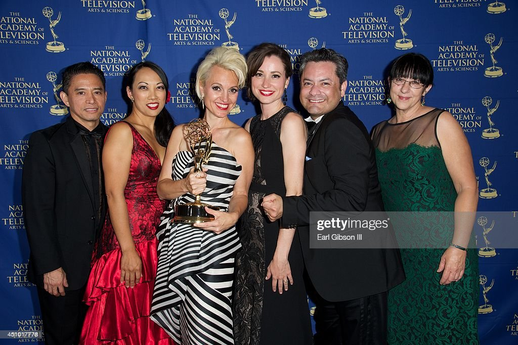 The Bold and the Beautiful Costume Design winners attend the Daytime Creative Arts Emmy Awards Gala at Westin Bonaventure Hotel on June 20, 2014 in Los Angeles, California.