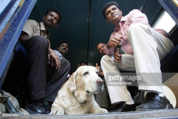 The Bomb Detection and Disposal squad team of Mumbai police that diffued two live bombs and ten hand grenades saving around 300 lives