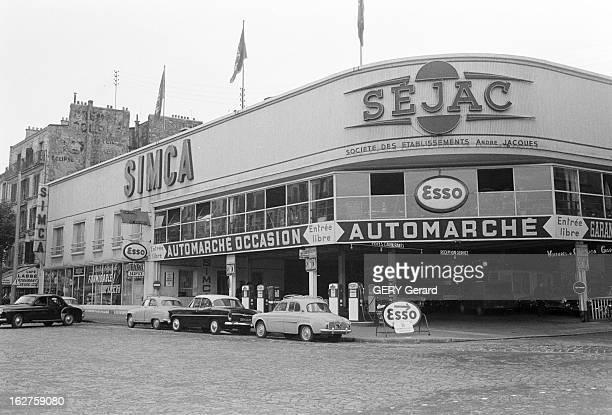 The bombing of 39 pont sur seine 39 pictures getty images for Garage automobile paris 12