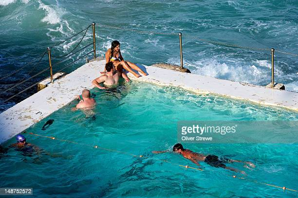 The Bondi Icebergs ocean pool.