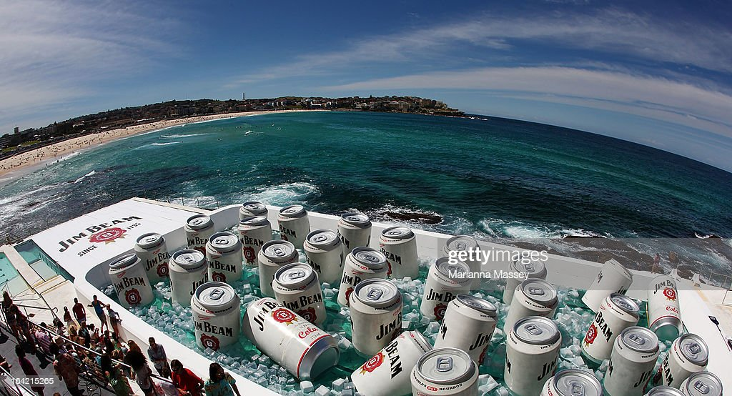 Bondi icebergs pool converted into giant esky getty images for Pool show sydney