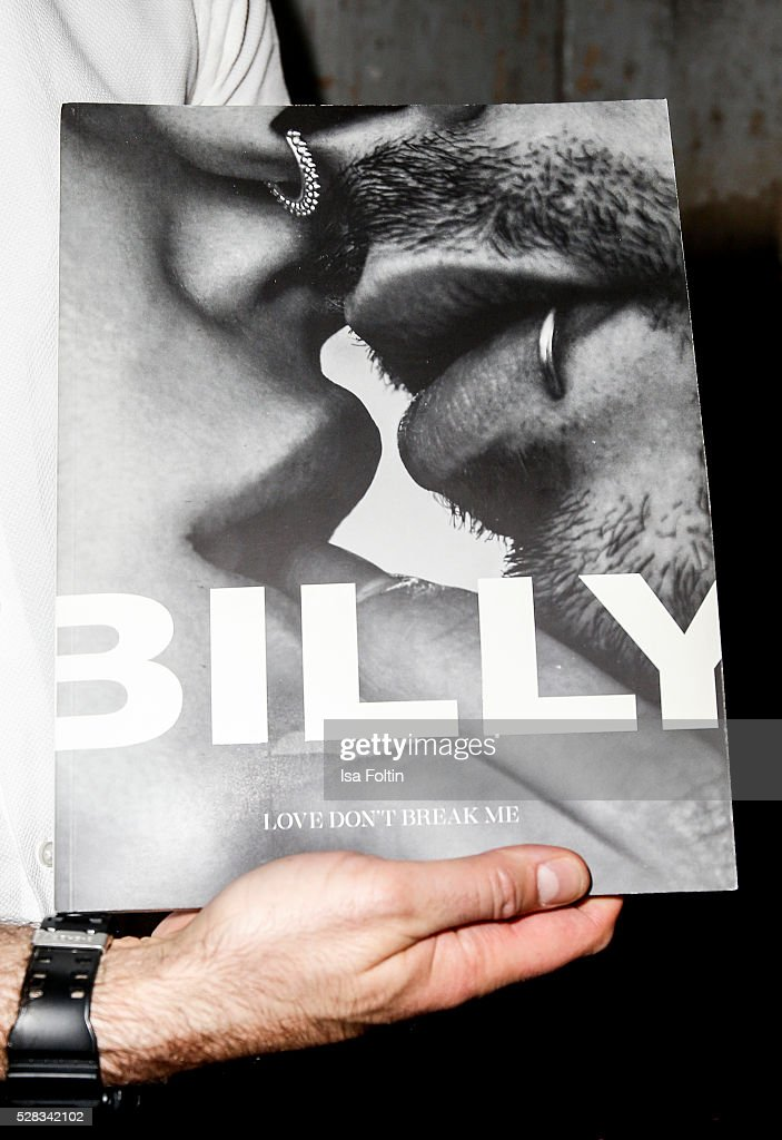 The book of Bill Kaulitz as a detail at the photo art exhibition and book launch of BILLY at Seven Star Gallery on May 4, 2016 in Berlin, Germany.