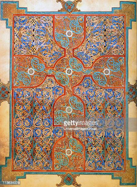 The book of kells is an example of