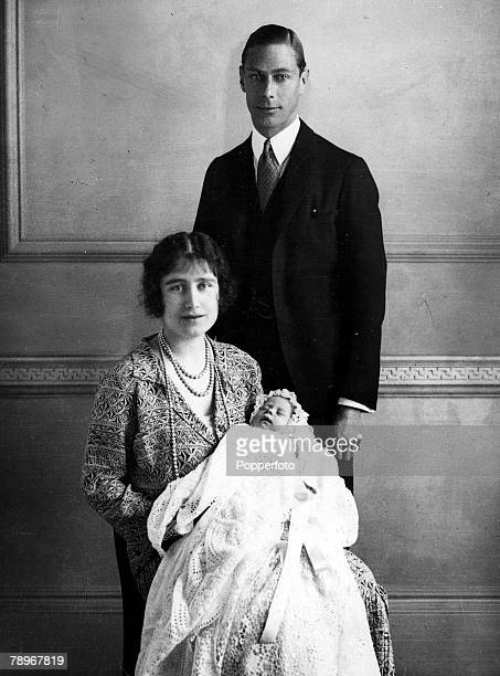 The Book Volume 1 Page Picture 1926 The Duke and Duchess of York later King George VI and the Queen Mother with their baby girl Princess Elizabeth...