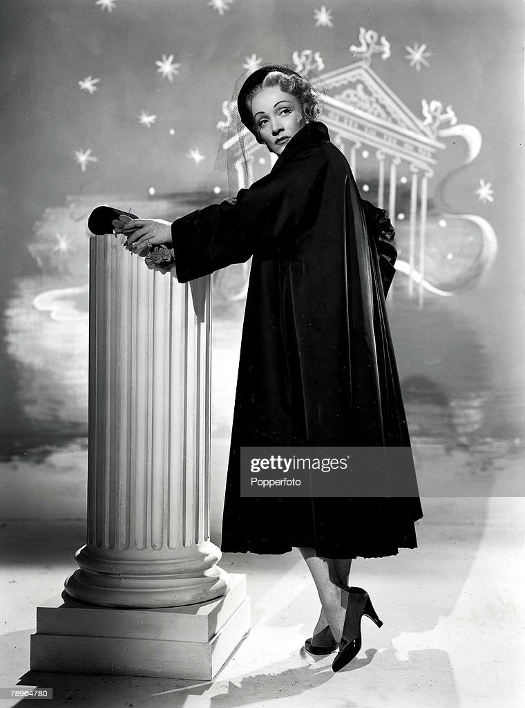 The Book, Volume 1, Page, 39, Picture, 9, A picture of legendary German born, American actress and singer Marlene Dietrich