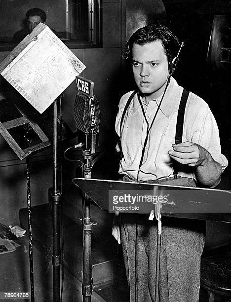 The Book Volume 1 PagePicture A picture of the legendary US film director actor producer screenwriter and broadcaster Orson Welles