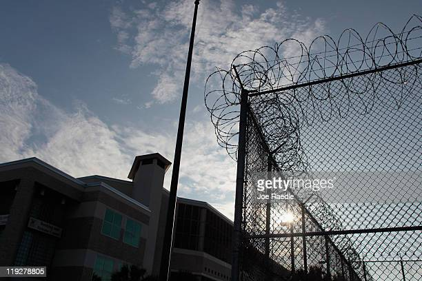 The Booking and Release Center at the Orange County Jail is seen where Casey Anthony is scheduled to be released from on July 17th after being...