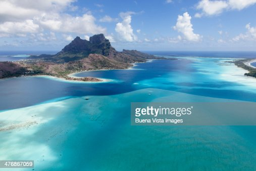 The Bora Bora Lagoon