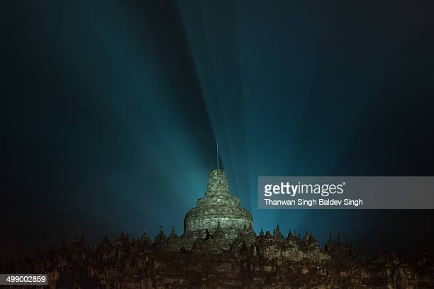 CONTENT] The Borobudur Temple during Waisak Celebration in 2014