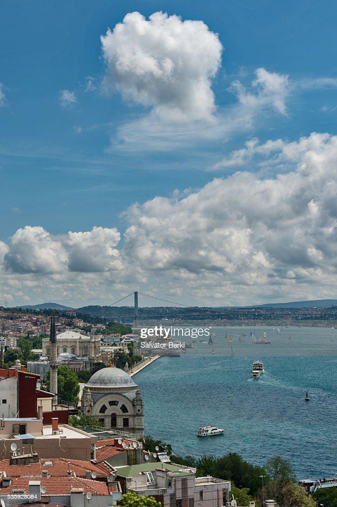 The Bosphorus, Istanbul : Stock Photo