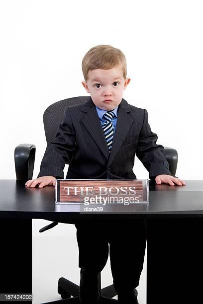 Le patron a quelque chose à dire.